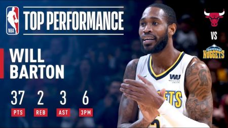 Will Barton gives Denver Nuggets a boost