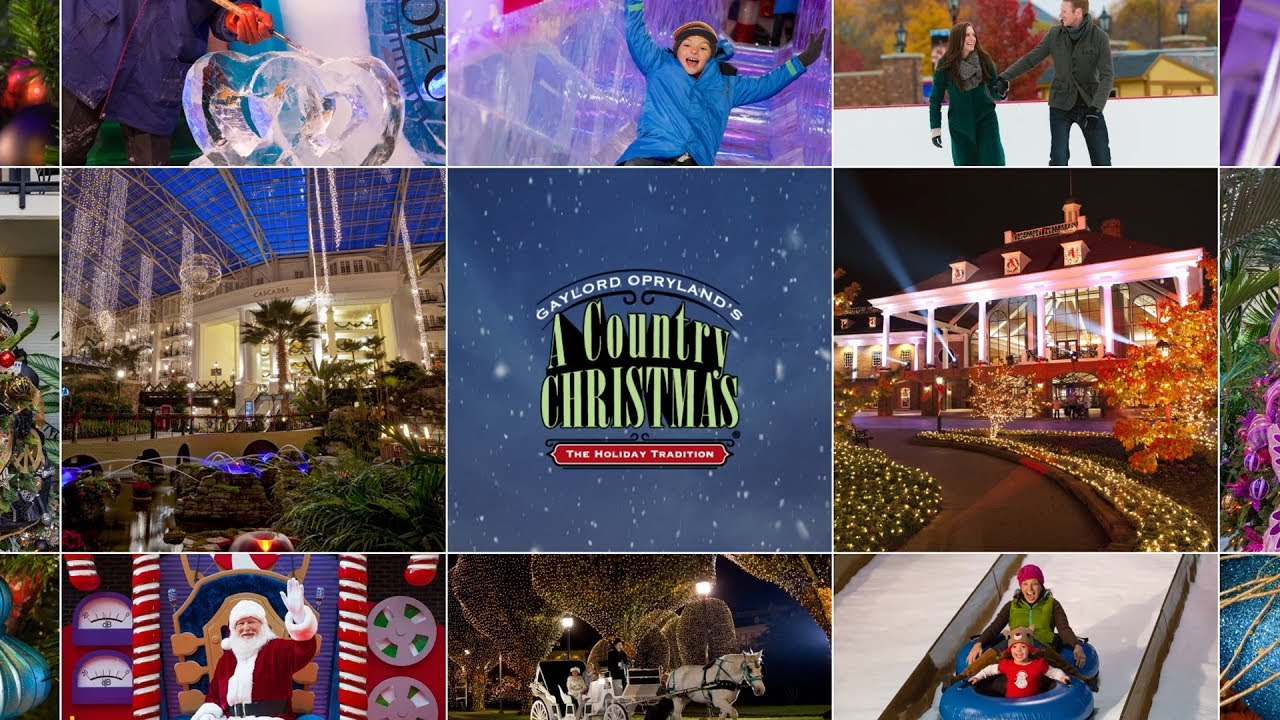 Family holiday and Christmas events in Nashville 2017