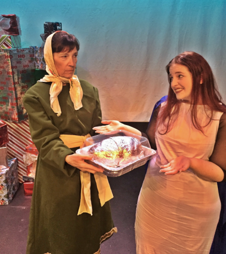 <p>Carol Wietschnig as Ann and Chelsea Pedro as Mary in