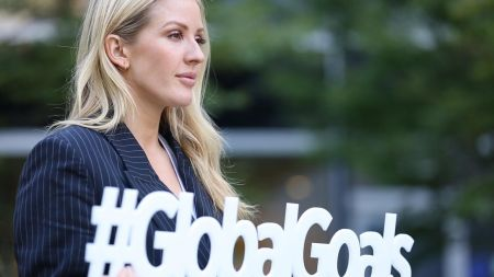 Ellie Goulding honored as new United Nations Environmental Ambassador
