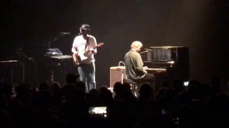 Watch: Grateful Dead pianist Bruce Hornsby performs with Bon Iver during Richmond concert