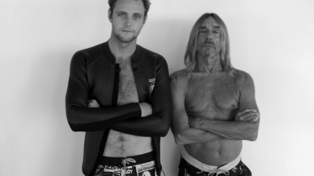 Iggy Pop teams up with Billabong for his own boardshorts line