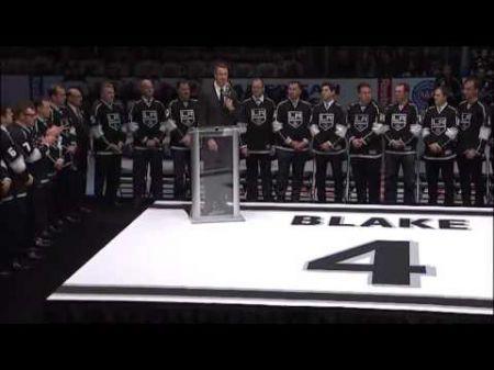 Rob Blake inducted into IIHF Hall of Fame