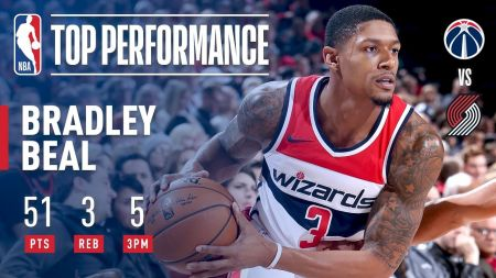 Bradley Beal displays superstar talent for Washington Wizards