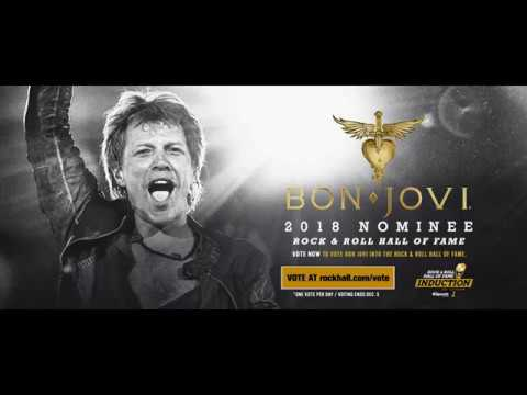 Bon Jovi wins fan vote category for 2018 Rock and Roll Hall of Fame induction