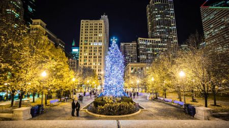 Family holiday and Christmas events in Chicago 2017