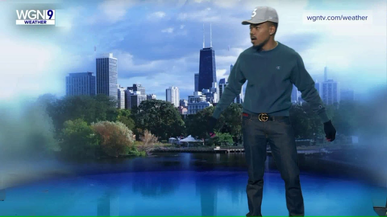 Watch Chance the Rapper give Chicago weather report on WGN