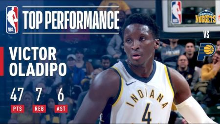 Victor Oladipo rewards Indiana Pacers for risky trade