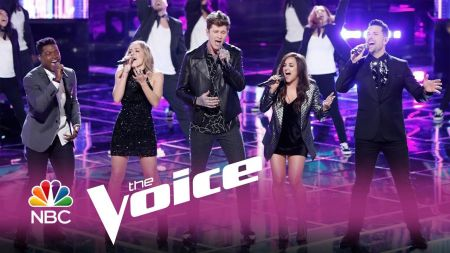 Watch The Voice stars reunite for 'The Voice: Neon Dreams' live show