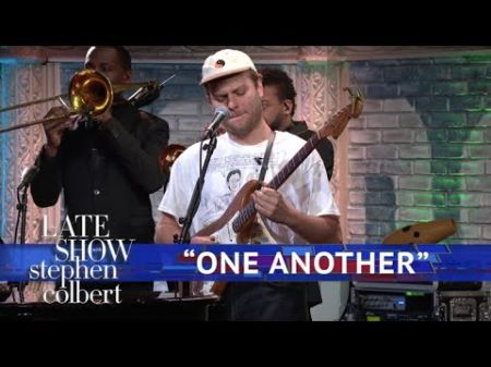 Mac DeMarco hung out with Tom Hanks and performed on 'Colbert'