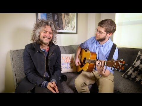 The Flaming Lips' Wayne Coyne is prepping 'Human Blood Spin-Art' for Christmas