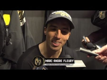 Fleury returns to the crease as Golden Knights prep for the midseason grind