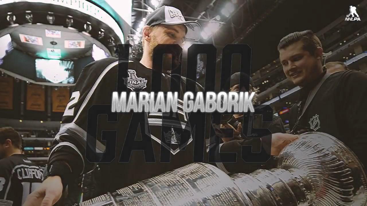 Marian Gaborik reaches career milestone in LA Kings game vs. Rangers on Dec. 16