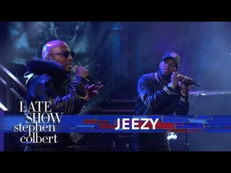 Jeezy and Tory Lanez perform new track 'Like Them' on 'Colbert'