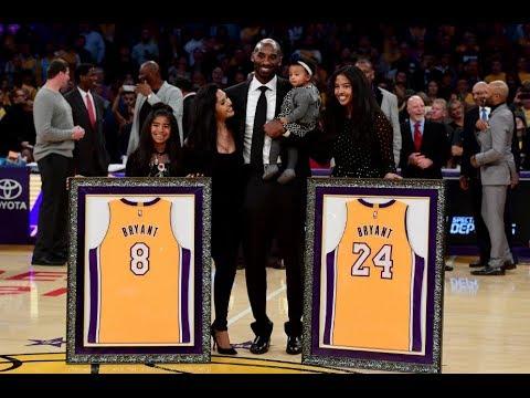 Los Angeles Lakers celebrate the career of Kobe Bryant - AXS 226ac7b7f