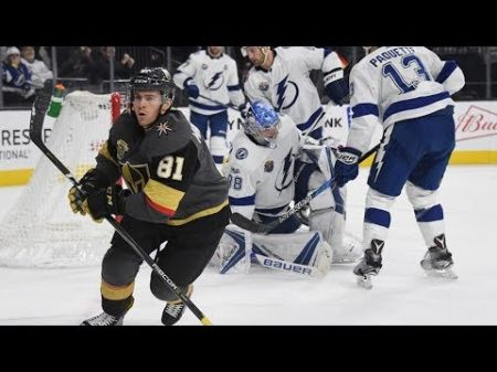 Vegas beats Tampa Bay with late goal from unlikely source for biggest win of the season