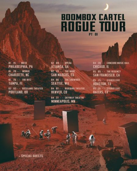 Boombox Cartel announce the 2018 Rogue Tour Part 1