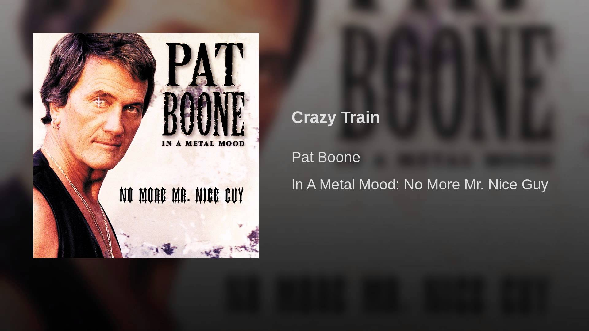 Interview: Wholesome singer Pat Boone remembers his heavy metal days