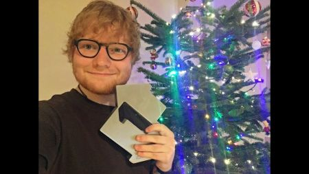 Watch: Ed Sheeran thanks fans for a 'dream come true' when 'Perfect' scores UK Christmas No. 1