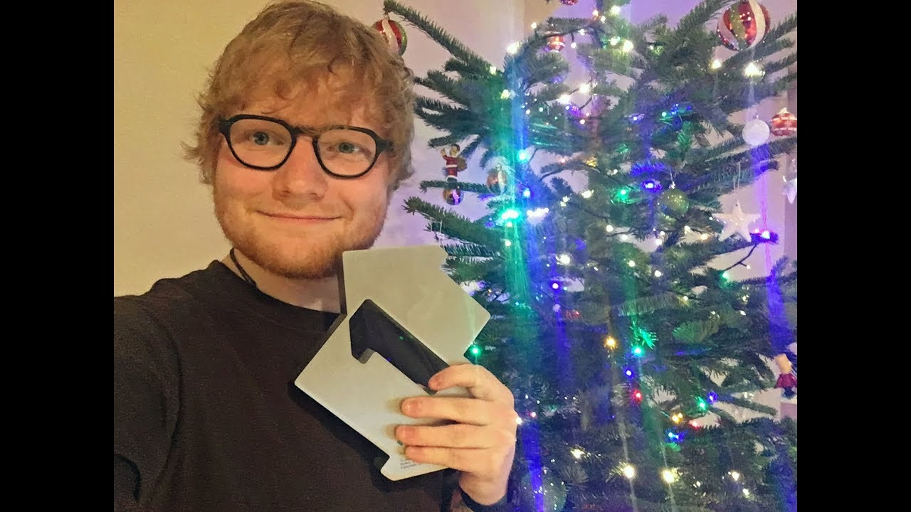 watch ed sheeran thanks fans for a dream come true - A Dream For Christmas