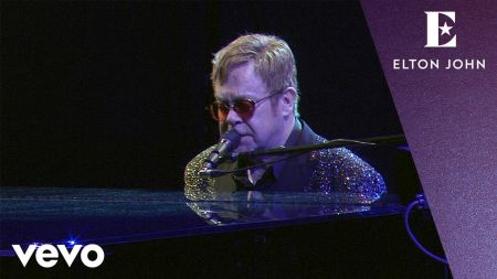 Watch: Elton John debuts live version of 'Skyline Pigeon' as holiday season gift to fans