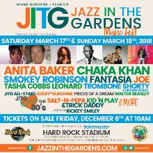 jazz in the gardens 2018 tickets in miami gardens at hard rock stadium on sun mar 18 2018 4 00pm