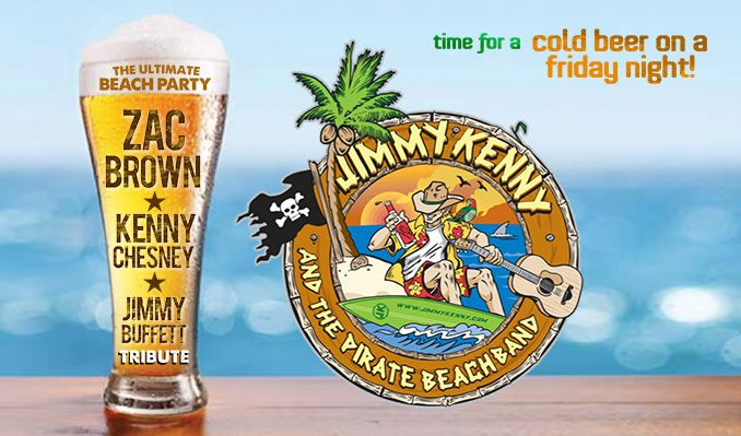Jimmy Kenny and The Pirate Beach Band tickets at Starland Ballroom in Sayreville