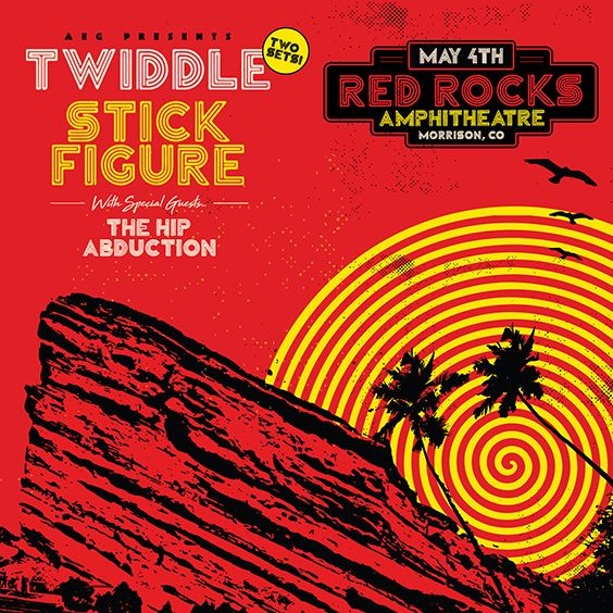 Twiddle Stick Figure Red Rocks Entertainment Concerts