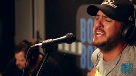 Luke Bryan closes out Bobby Bones' 'Joy Week' in support of Hurricane Harvey relief effort