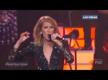 Celine Dion performs 'River Deep Mountain High' on 'NYE with Steve Harvey'