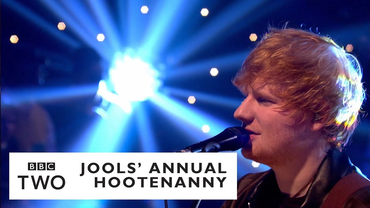 Watch Ed Sheeran perform 'Perfect' on 'Jools Annual Hootenanny'