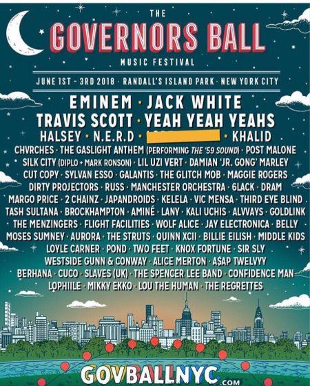 Governors Ball 2018 Lineup