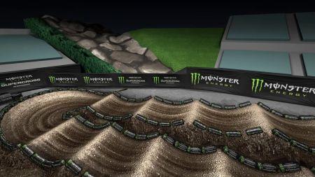 Monster Energy Supercross roars into Angel Stadium of Anaheim