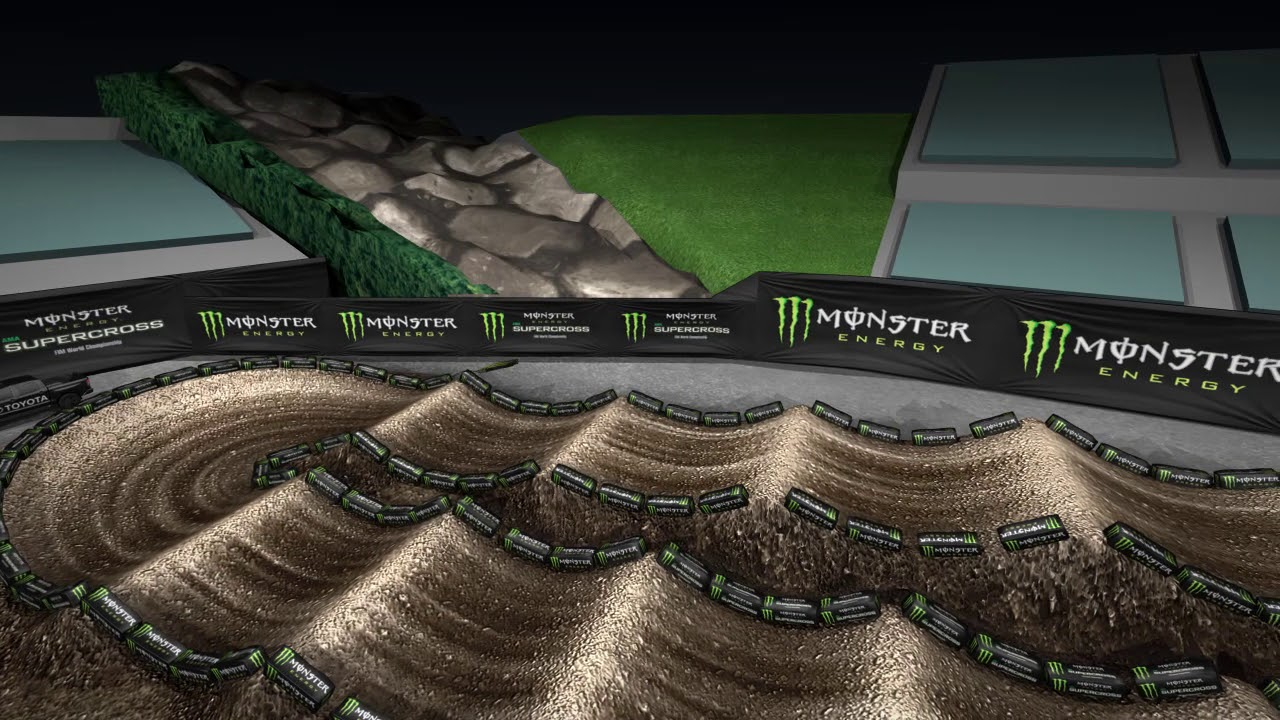 Monster Energy Supercross roars into Angel Stadium of Anaheim
