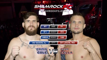 UFC vet Adam 'El Natural' Cella highlights Shamrock FC 301 card