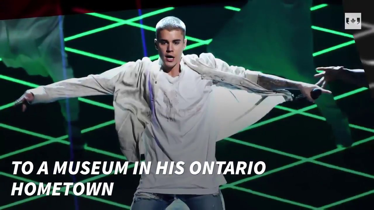See Justin Bieber's 'Steps to Stardom' in new museum exhibit