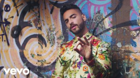 Maluma celebrates 'Corazón' music video crossing 200 million views on YouTube