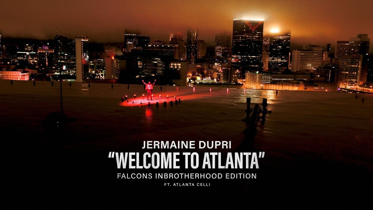 Jermaine Dupri calls for Falcons team spirit with 'Welcome to Atlanta' remix