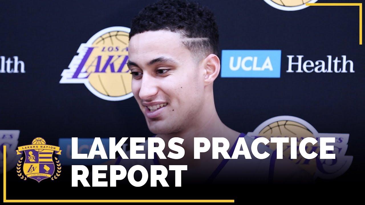 Kyle Kuzma displays leadership for young Los Angeles Lakers