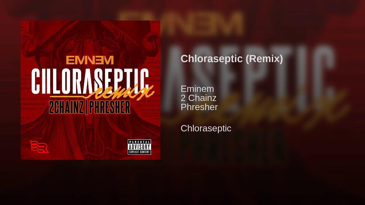 Eminem addresses critics on 'Chloraseptic' remix; lost 2 Chainz verse surfaces