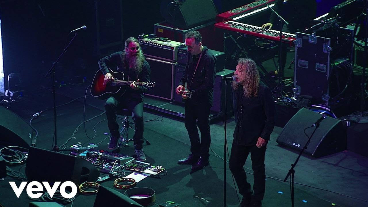 Watch: Robert Plant to release 'Live at  David Lynch's Festival of Disruption' on DVD