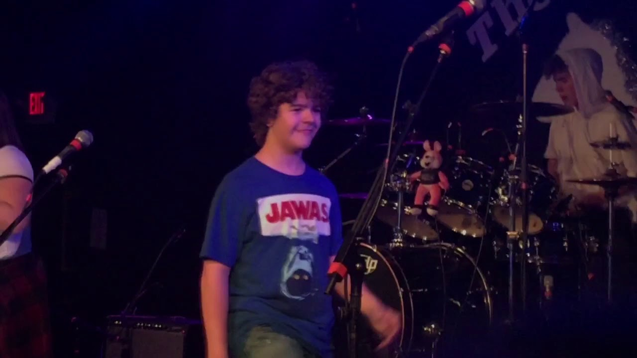 'Stranger Things' star Gaten Matarazzo gets open invite to join Paramore on stage