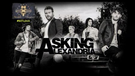 Asking Alexandria to be featured on NXT TakeOver: Philadelphia