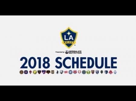 LA Galaxy reveal 2018 home schedule; single-game tickets on sale Jan. 16
