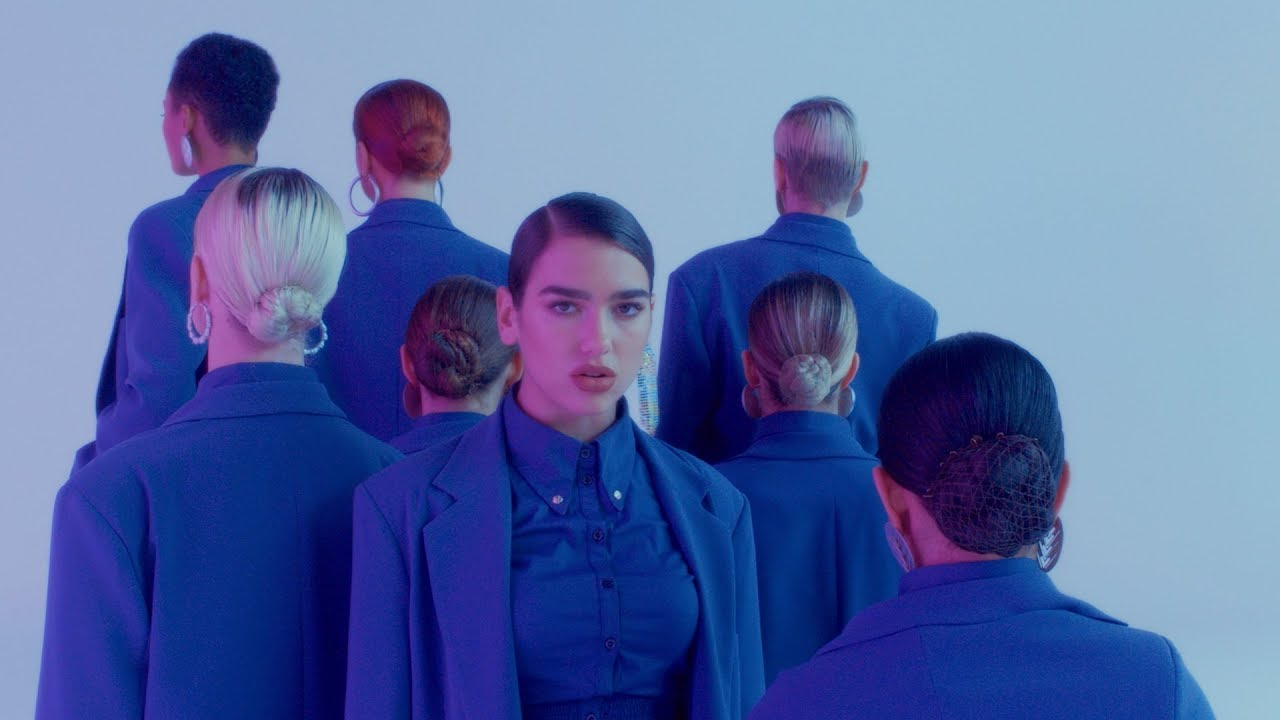 Dua Lipa goes to war with herself in 'IDGAF' music video