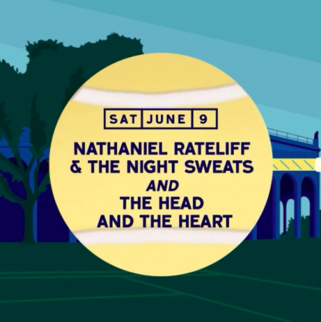 Nathaniel Rateliff & The Night Sweats and The Head and The Heart will take the stage at Forest Hills Stadium on Saturday, June 9.