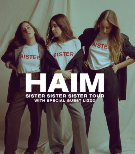Haim will head out on tour across North America this spring, and they'll be joined in support by Lizzo and Maggie Rogers.
