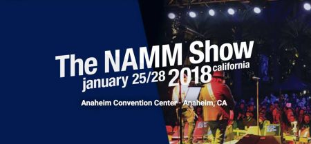 The 2018 NAMM Show is coming to Anaheim, Calif. from Jan. 25-28.