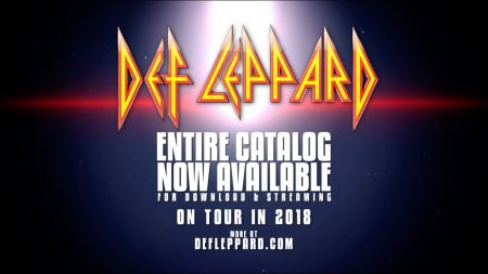 Def Leppard announces 2018 tour with Journey