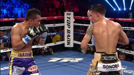 Boxing: 	Óscar Valdez is one of a kind